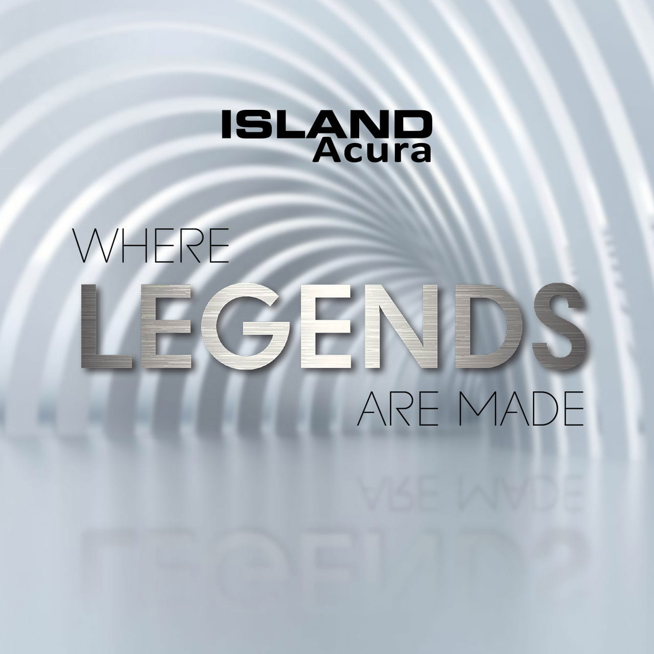island acura where legends are made